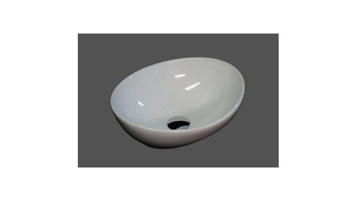 Lavabo porcelaine sur plan