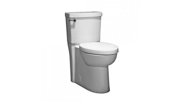 Toilettes StudioMD FloWiseMD Allongées Hauteur IdéaleMD avec siège et passage de Siphon Dissimulé
